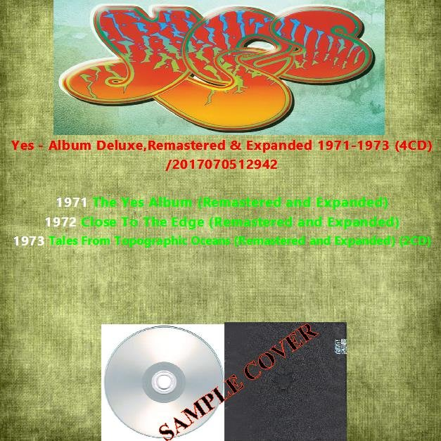 Yes - Album Deluxe,Remastered & Expanded 1971-1973 (4CD)