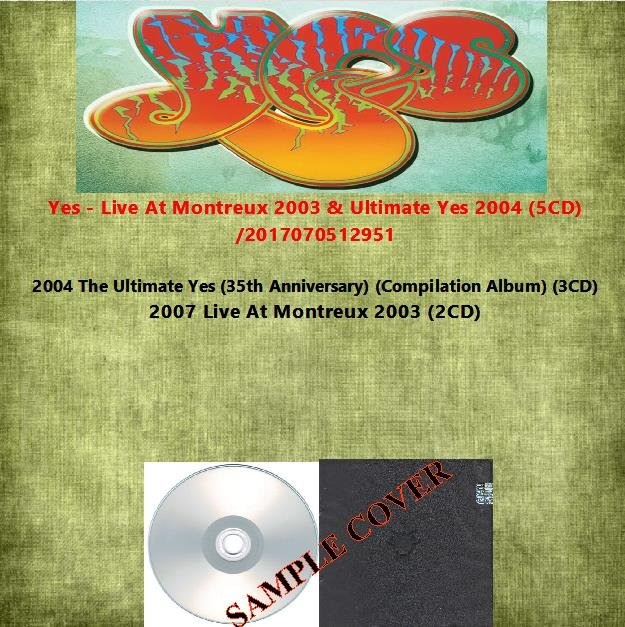 Yes - Live At Montreux 2003 & Ultimate Yes 2004 (5CD)