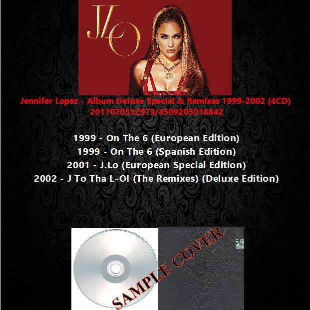 Jennifer Lopez - Album Deluxe Special & Remixes 1999-2002 (4CD)