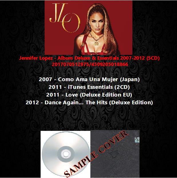Jennifer Lopez - Album Deluxe & Essentials 2007-2012 (5CD)