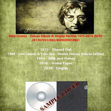 John Lennon - Deluxe Album & Singles Rarities 1975-2010 (5CD)