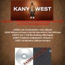 Kanye West - Deluxe Album Live & Mixtape 2006-2007 (5CD)