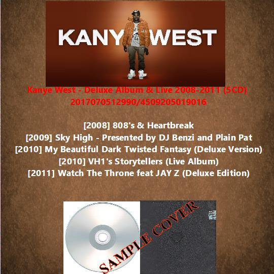 Kanye West - Deluxe Album & Live 2008-2011 (5CD)