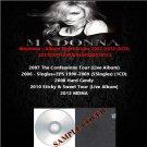 Madonna - Album Sinles & Live 2007-2012 (5CD)