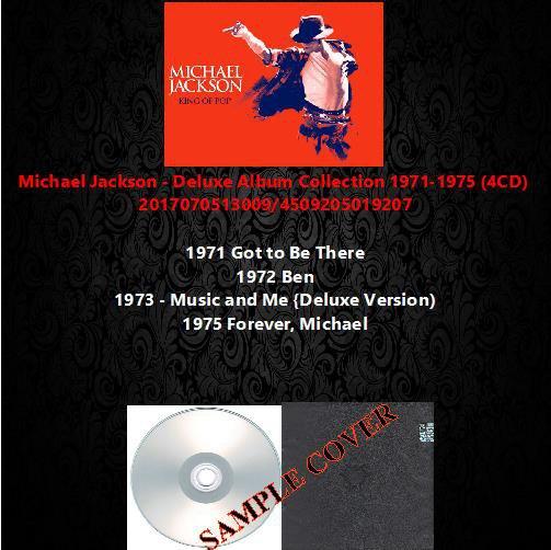 Michael Jackson - Deluxe Album Collection 1971-1975 (4CD)
