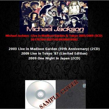Michael Jackson - Live in Madison Garden & Tokyo 2003/2009 (5CD)