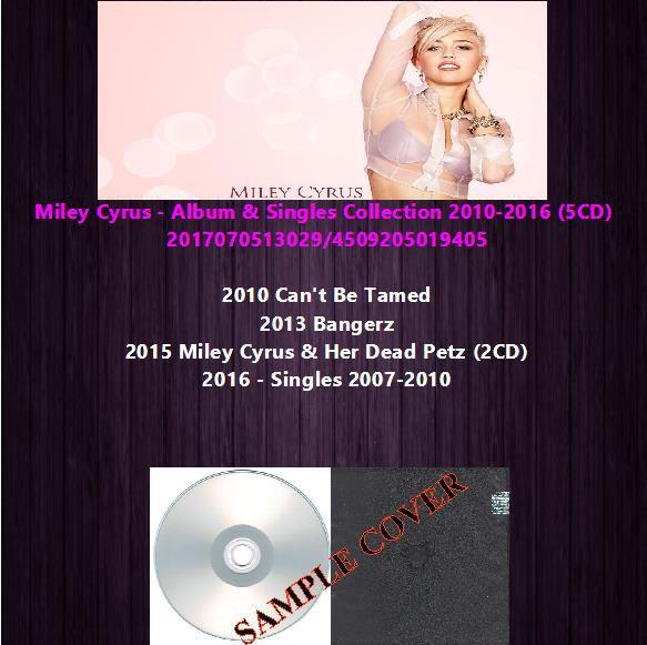 Miley Cyrus - Album & Singles Collection 2010-2016 (5CD)