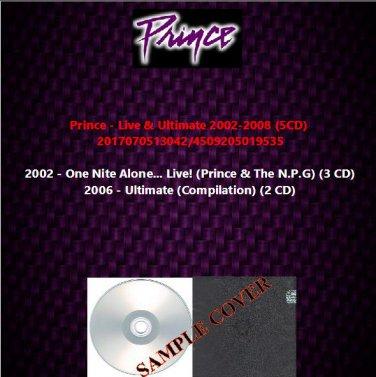 Prince - Live & Ultimate 2002-2008 (5CD)