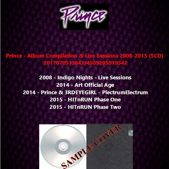 Prince - Album Compilation & Live Sessions 2008-2015 (5CD)