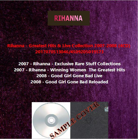 Rihanna - Greatest Hits & Live Collection 2007-2008 (4CD)