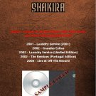 Shakira - Deluxe & Limited Album 2001-2004 (Silver Pressed 5CD)*