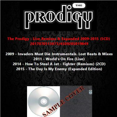 The Prodigy - Live,Remixes & Expanded 2009-2015 (5CD)