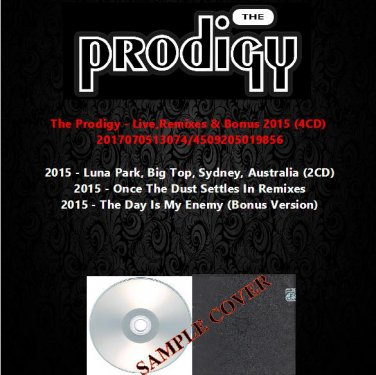 The Prodigy - Live,Remixes & Bonus 2015 (4CD)