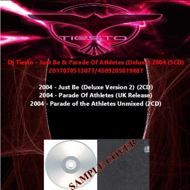 Dj Tiesto - Just Be & Parade Of Athletes (Deluxe) 2004 (5CD)