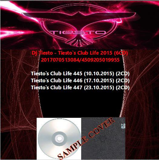 Dj Tiesto - Tiesto`s Club Life 2015 (6CD)