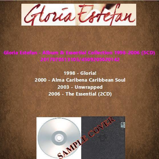 Gloria Estefan - Album & Essential Collection 1998-2006 (5CD)