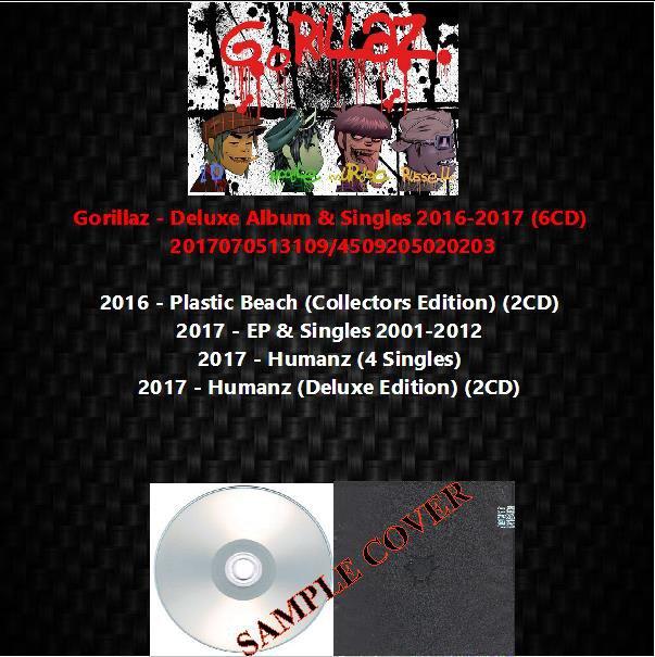 Gorillaz - Deluxe Album & Singles 2016-2017 (6CD)
