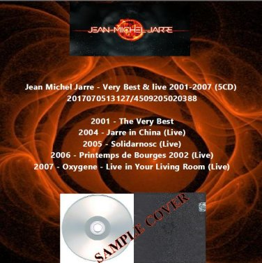 Jean Michel Jarre Very Best Live 2001 2007 5cd