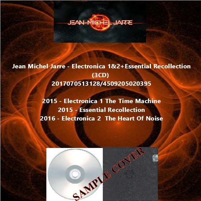 Jean Michel Jarre - Electronica 1&2+Essential Recollection (3CD)