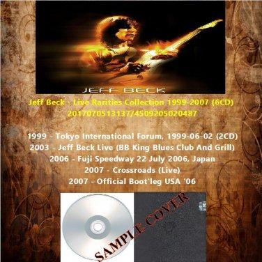 Jeff Beck - Live Rarities Collection 1999-2007 (6CD)