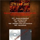 Meat Loaf - Album Rare Collection 1971-1984 (5CD)