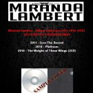 Miranda Lambert - Album Collection 2011-2016 (4CD)