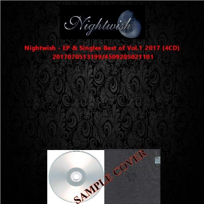 Nightwish - EP & Singles Best of Vol.1 2017 (4CD)