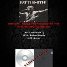 Patti Smith - Album Rarities Collection 1975-1978 (4CD)