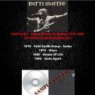 Patti Smith - Album Rarities Collection 1978-1996 (4CD)