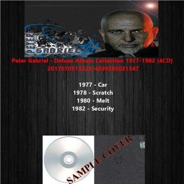 Peter Gabriel - Deluxe Album Collection 1977-1982 (4CD)