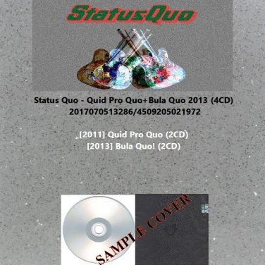 Status Quo - Quid Pro Quo+Bula Quo 2013 (4CD)