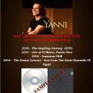 Yanni - Album Live Collection 2010-2016 (Silver Pressed 5CD)*