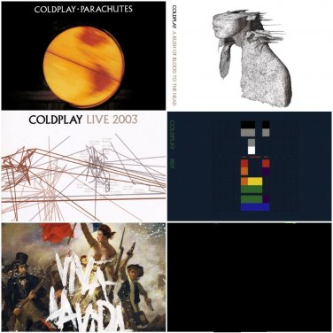 Coldplay - Album Deluxe Special Editions 2000-2008 (6CD)