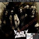Black Sabbath - Deluxe Album, Live & Greatest Hits 1970-2000 (4CD MP3)