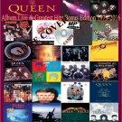 Queen - Album,Live & Greatest Hits Bonus Edition 1973-2016 (5CD MP3)