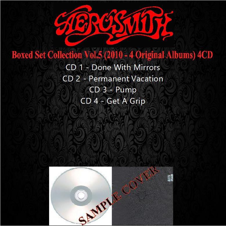 Aerosmith - Set Collection Vol.5 (4 Original Albums) (Silver Pressed Promo 4CD)*
