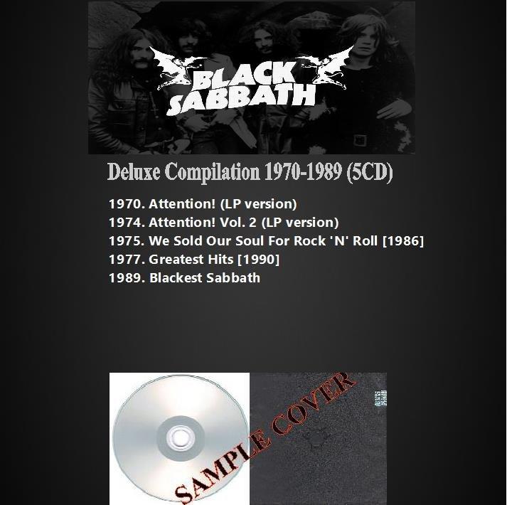 Black Sabbath - Deluxe Compilation 1970-1989 (5CD)