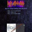 Def Leppard - Best Live Album Collection 1983-1984 (5CD)