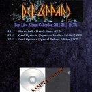 Def Leppard - Best Live Album Collection 2011-2013 (6CD)