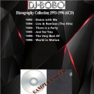 DJ Bobo - Discography Collection 1993-1996 (Silver Pressed 6CD)*