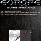 Europe - Best Live Album Collection 2007-2011 (4CD)