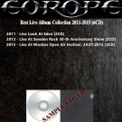 Europe - Best Live Album Collection 2011-2015 (Silver Pressed 6CD)*