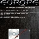 Europe - Best Unreleased Live Collection 1985-1987 (Silver Pressed 5CD)*