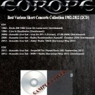 Europe - Best Various Short Concerts Collection 1982-2012 (2CD)