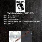 Frank Zappa - Vinyl Album Collection 1974-1979 (5CD)