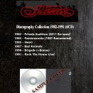 Heart - Discography Collection 1982-1991 (Silver Pressed 6CD)*