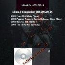 James Holden - Album & Compilations 2001-2006 (Silver Pressed 5CD)*