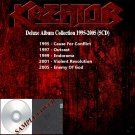 Kreator - Deluxe Album Collection 1995-2005 (Silver Pressed 5CD)*