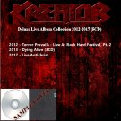 Kreator - Deluxe Live Album Collection 2012-2017 (Silver Pressed 5CD)*