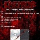 Kreator - Demo,EP & Singles Collection 1984-2016 (4CD)